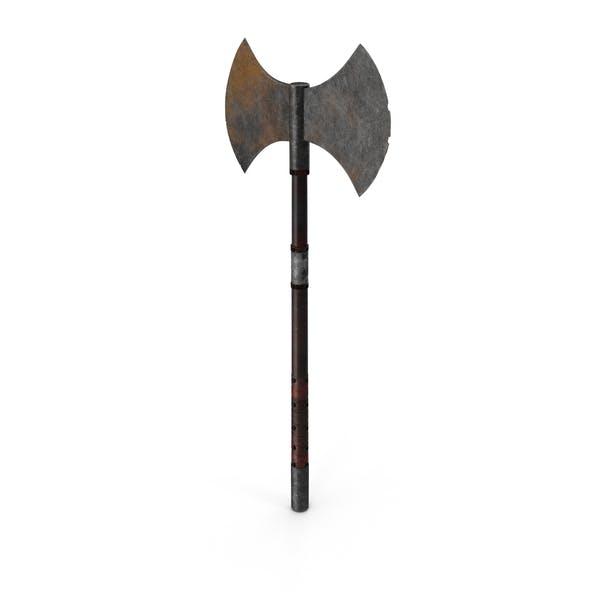Средневековый боевой топор