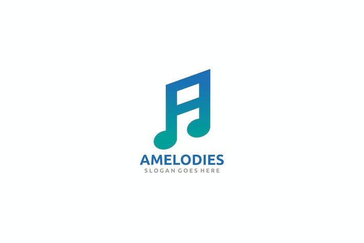 Thumbnail for Logo d'une lettre de musique