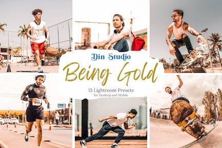 Being Gold Lightroom Presets