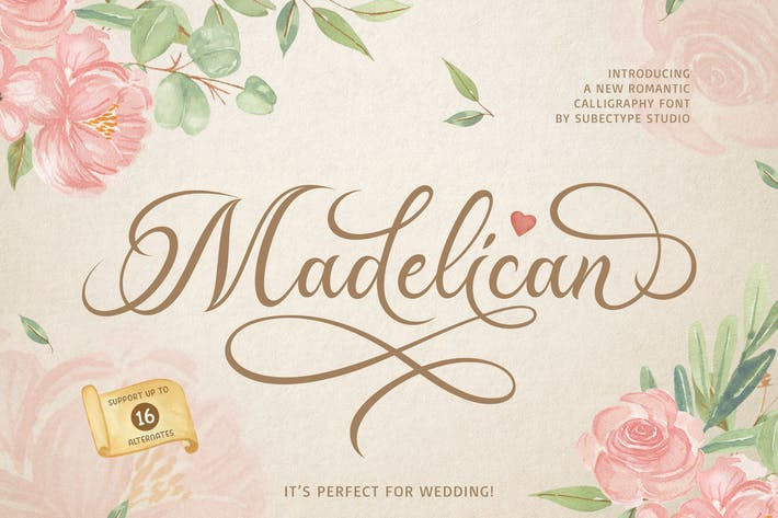 Thumbnail for Madelican Calligraphy