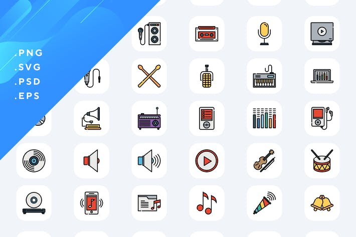 Thumbnail for 50 Music Icons