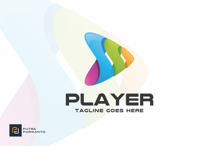Cover Image For Player / Play - Logo Template