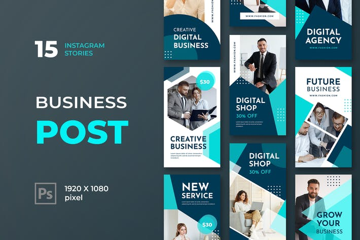 Thumbnail for Instagram Stories Business