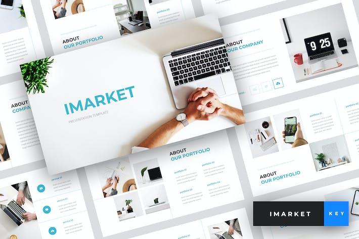 Thumbnail for Imarket - Internet Marketing Keynote Template