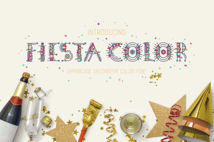Thumbnail for Fiesta Color Font