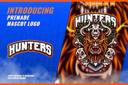 Viking Killers - Mascot Esport Logo Template