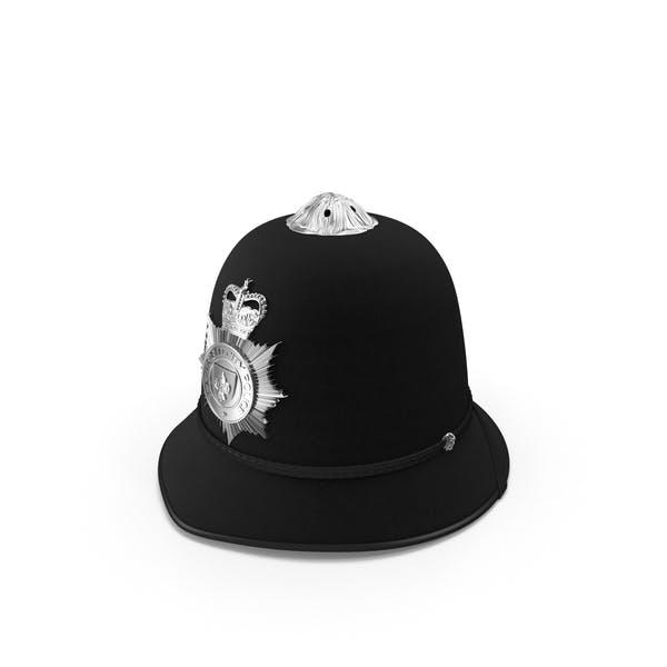 English Police Bobby Helmet