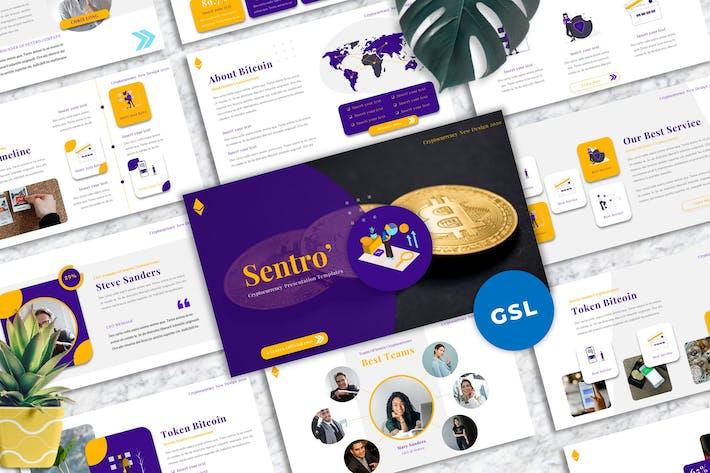 Sentro  - Cryptocurrency Googleslide Templates