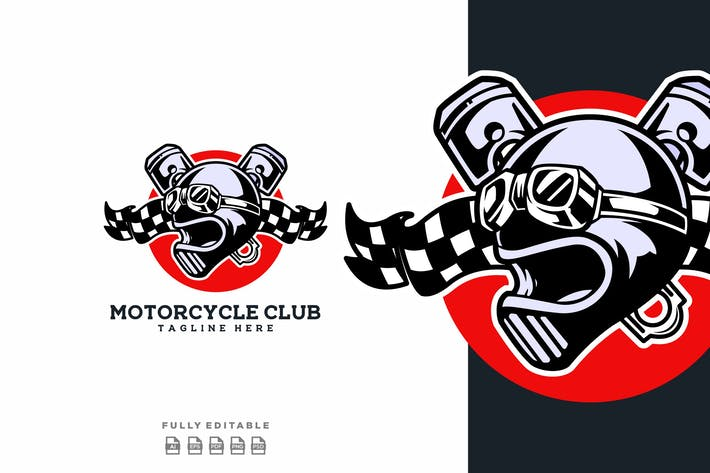 Motorcycle Club Raiders Logo