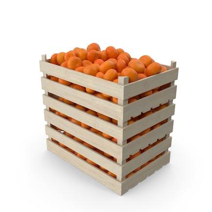Wooden Mandarin Crates