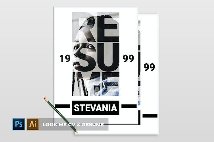 Look Me | CV & CV