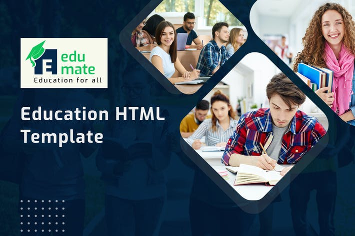 Thumbnail for Edumate - Education HTML Template