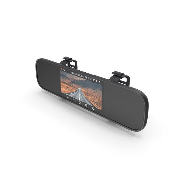 Rearview Mirror Smart Dash Cam