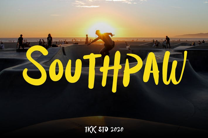 Thumbnail for Southpaw - Graffiti Signature Font