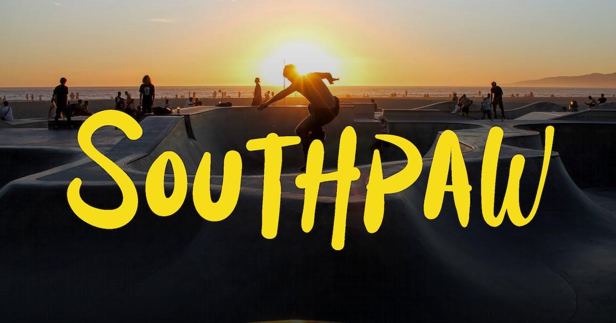 Download Southpaw - Graffiti Signature Font by Tokokoo