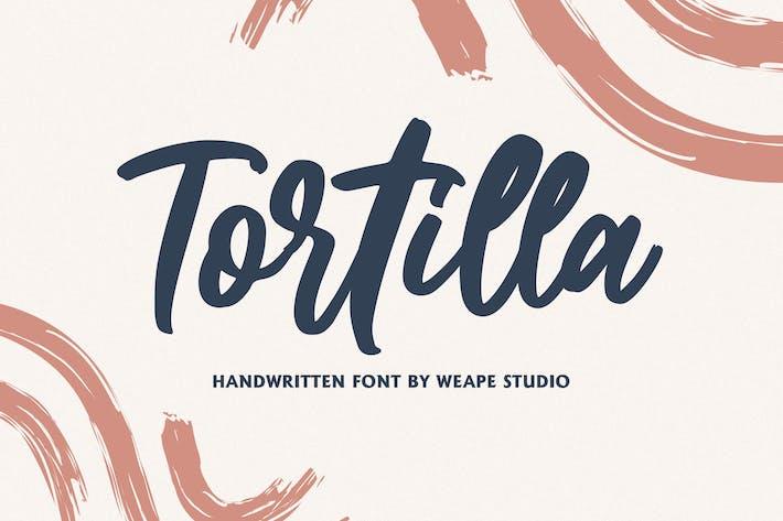 Thumbnail for Tortilla - Handwritten Font