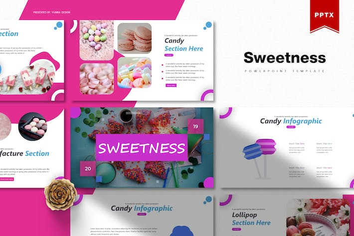Thumbnail for Sweetness | Powerpoint Template