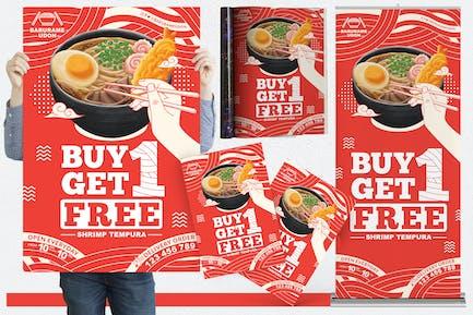 Restaurant #07 Print Templates Pack