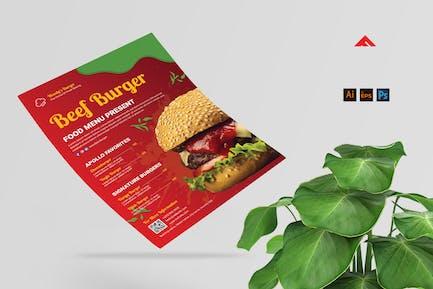 Burger Flyer