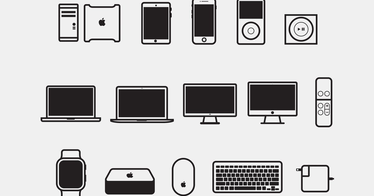 Download 15 Apple Device Icons by Unknow