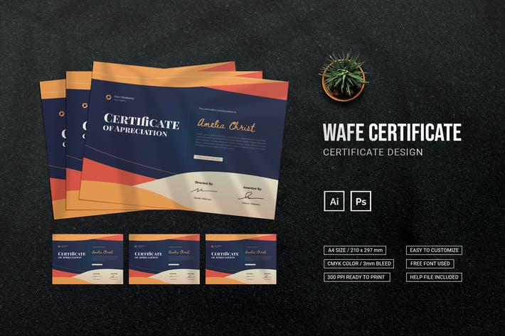Wave - Certificate