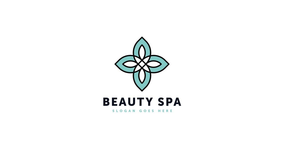 Beauty Spa Logo Template by Pixasquare