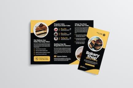 Bakery Trifold Brochure