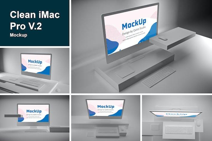 Cover Image For Clean iMac Pro V.2