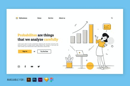 Sales Performance - Web Illustration