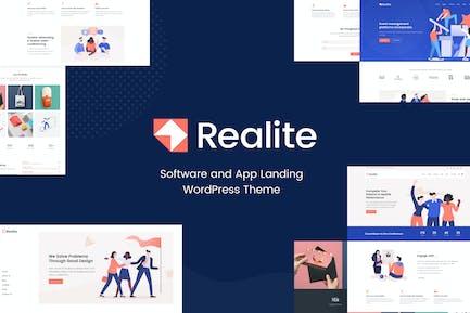 Realite - Fresh Startup Business Theme