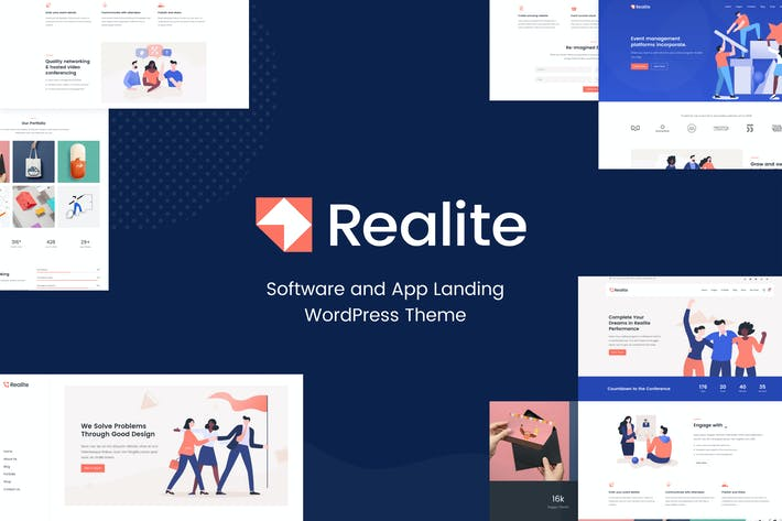 Thumbnail for Realite - Fresh Startup Business Theme