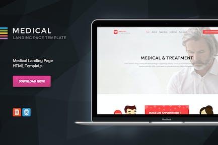 Medical - HTML-Zielseite