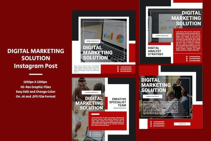 Lösung für digitales Marketing