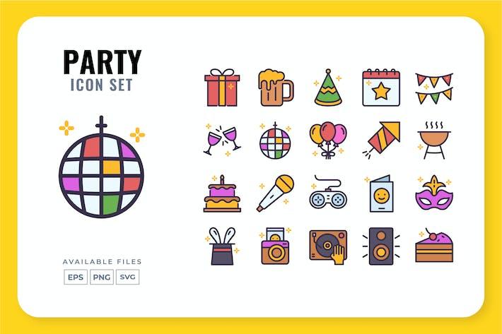 Party-Icon-Set
