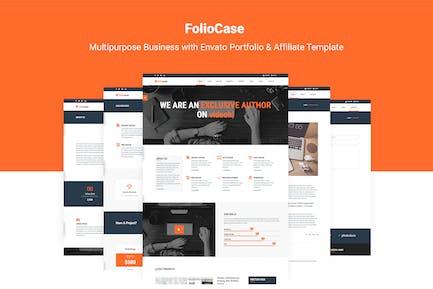 FolioCase | Envato Portfolio & Affiliate Template