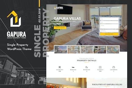 Gapura | Single Property HTML Template