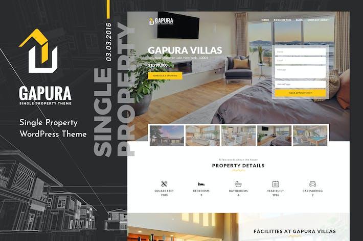 Thumbnail for Gapura | Single Property HTML Template