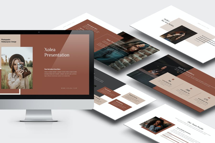 Xolea : Photography Business Profile Powerpoint