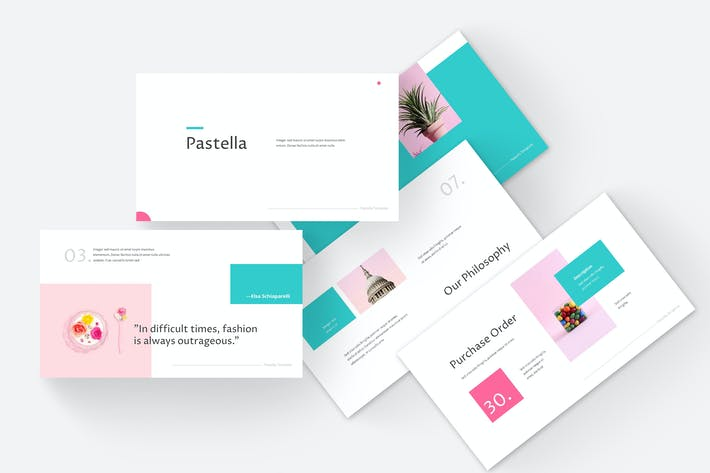 Thumbnail for Pastella - Google Slides Template