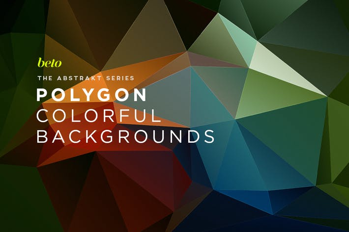 Thumbnail for Polygon Abstract Backgrounds V11