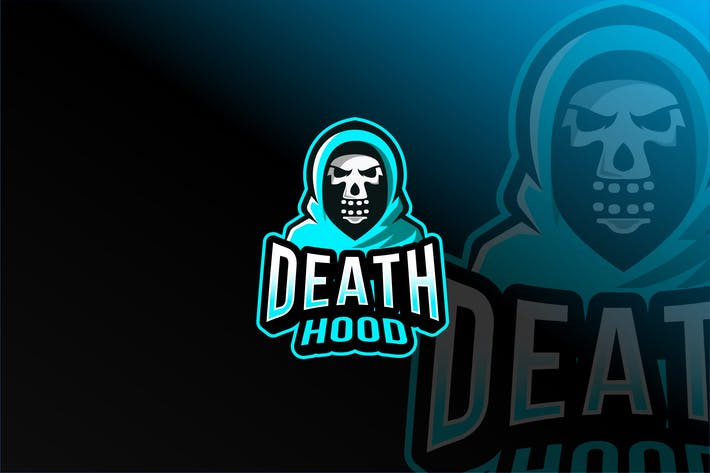 Death Hood Esport Logo Template