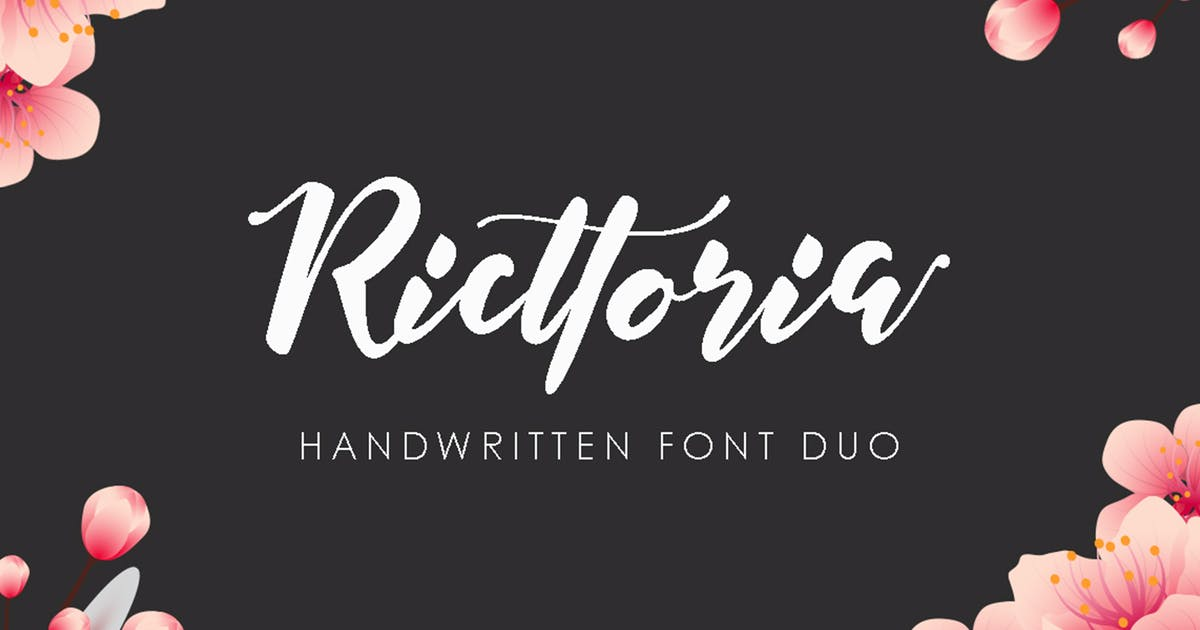 Download Ricttoria Font Duo by MissinkLabStudio