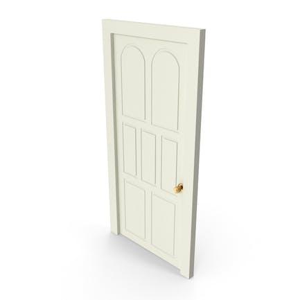 Tür gemalt