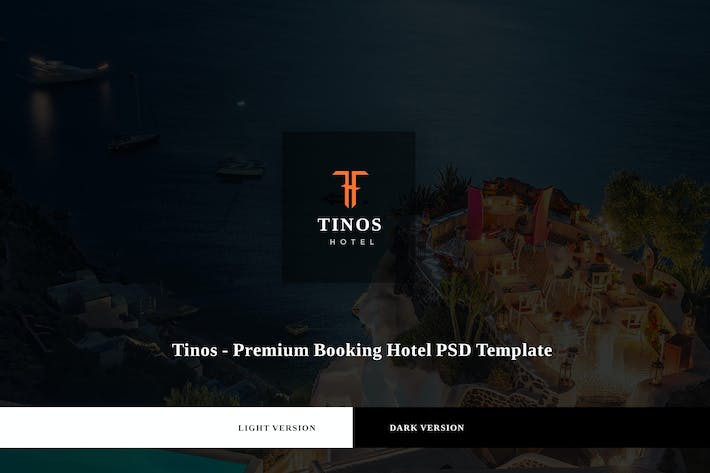 Thumbnail for Tinos - Premium Booking Hotel PSD Template