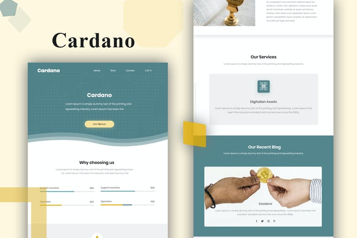 Thumbnail for Cardano - Email Template