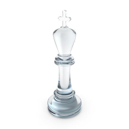 Schach-König-Glas