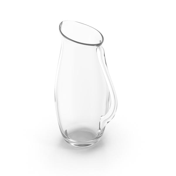 Thumbnail for Empty Glass Pitcher