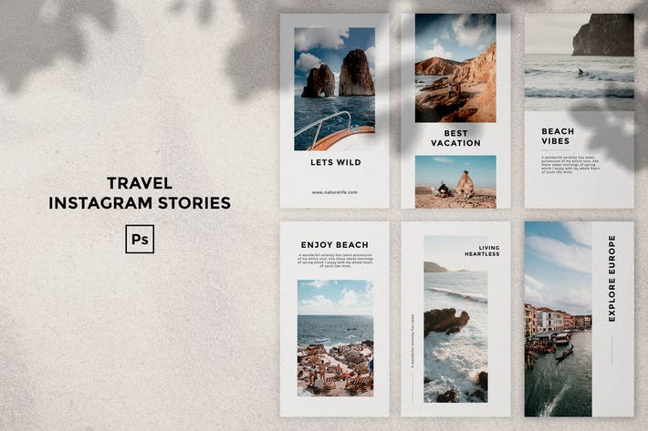 Thumbnail for Travel Instagram Stories