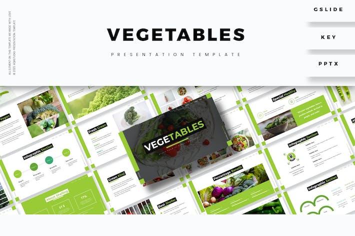 Овощи - Шаблон презентации