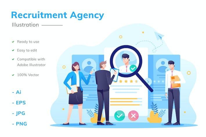 Thumbnail for Recruitment Agency Illustration
